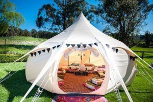 happy Glamper Lotus Bell Tent